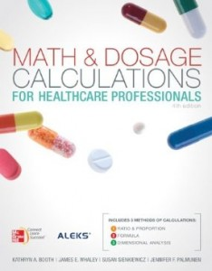 Test bank for Math and Dosage Calculations for Healthcare Professionals 4th Edition by Booth