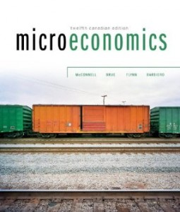 Test bank for Microeconomics 12th Canadian Edition by McConnell