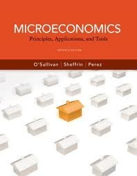 Test bank for Microeconomics Principles Applications and Tools 7th Edition by OSullivan