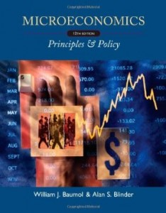 Test bank for Microeconomics Principles and Policy 12th Edition by Baumol