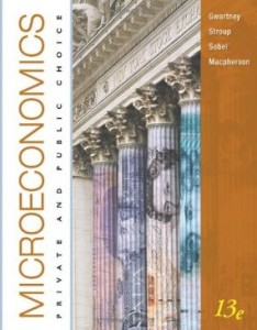 Test bank for Microeconomics Private and Public Choice 13th Edition by Gwartney