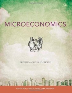 Test bank for Microeconomics Private and Public Choice 14th Edition by Gwartney