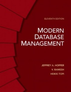Test bank for Modern Database Management 11th Edition by Hoffer