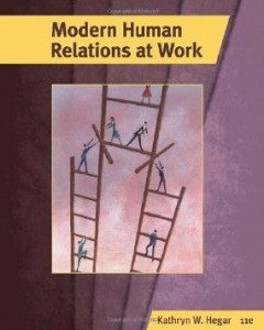 Test bank for Modern Human Relations at Work 11th Edition by Hegar