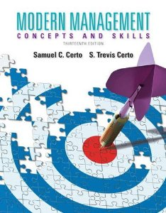 Test bank for Modern Management 13th Edition by Certo