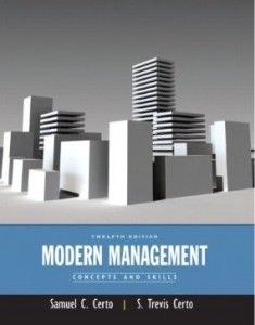 Test bank for Modern Management Concepts and Skills 12th Edition by Certo