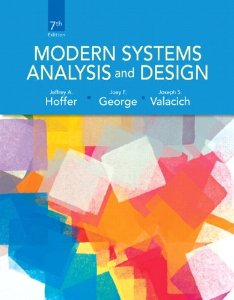 Test bank for Modern Systems Analysis and Design 7th Edition by Hoffer
