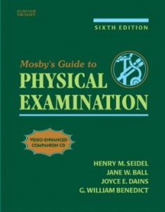 Test bank for Mosbys Guide to Physical Examination 6th Edition by Seidel