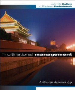 Test bank for Multinational Management 4th Edition by Cullen