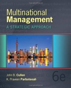 Test bank for Multinational Management 6th Edition by Cullen