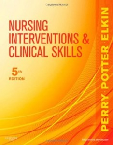 Test bank for Nursing Interventions and Clinical Skills 5th Edition by Perry