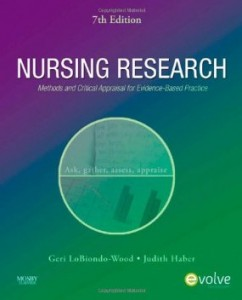 Test bank for Nursing Research Methods and Critical Appraisal for Evidence Based Practice 7th Edition by Wood