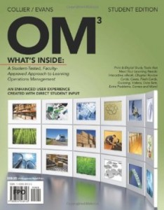 Test bank for OM 3rd Edition by Collier