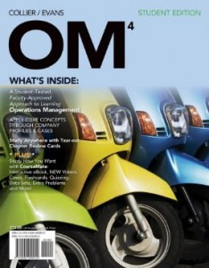 Test bank for OM 4 4th Edition by Collier