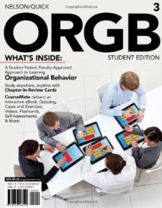 Test bank for ORGB 3rd Edition by Nelson