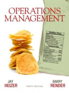 Test bank for Operations Management 10th Edition by Heizer