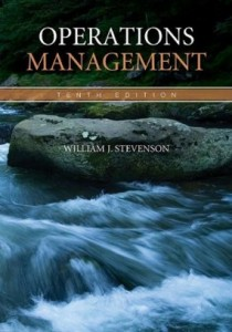 Test bank for Operations Management 10th Edition by Stevenson