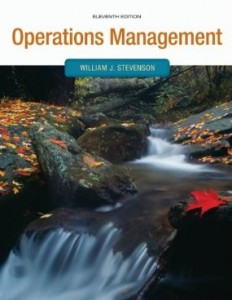 Test bank for Operations Management 11th Edition by Stevenson