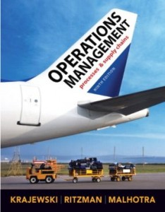 Test bank for Operations Management 9th Edition by Krajewski