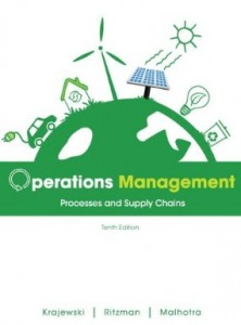 Test bank for Operations Management Processes and Supply Chains 10th Edition by Krajewski