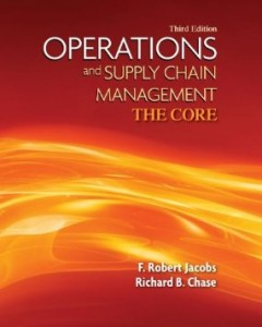 Test bank for Operations and Supply Chain Management The Core 3rd Edition by Jacobs