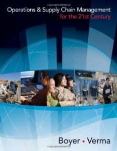 Test bank for Operations and Supply Chain Management for the 21st Century 1st Edition by Boyer
