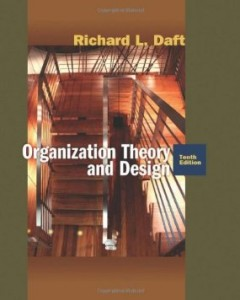 Test bank for Organization Theory and Design 10th Edition by Daft