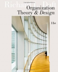 Test bank for Organization Theory and Design 11th Edition by Daft