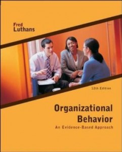 Test bank for Organizational Behavior An Evidence Based Approach 12th Edition by Luthans
