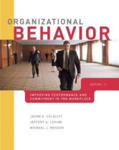 Test bank for Organizational Behavior Improving Performance and Commitment in the Workplace 2nd Edition by Colquitt