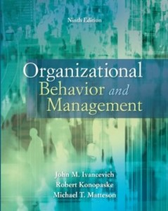 Test bank for Organizational Behavior and Management 9th Edition by Ivancevich