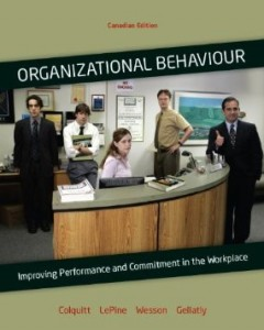 Test bank for Organizational Behaviour 1st Canadian Edition by Colquitt
