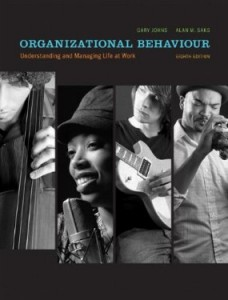 Test bank for Organizational Behaviour Understanding and Managing Life at Work 8th Canadian Edition by Johns