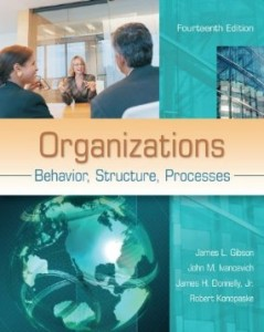 Test bank for Organizations Behavior Structure Processes 14th Edition by Gibson
