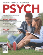 Test bank for PSYCH 2nd Canadian Edition by Rathus