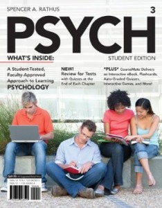 Test bank for PSYCH 3rd Edition by Rathus