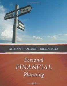 Test bank for Personal Financial Planning 12th Edition by Gitman