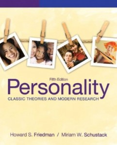 Test bank for Personality Classic Theories and Modern Research 5th Edition by Friedman
