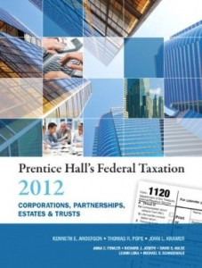 Test bank for Prentice Halls Federal Taxation 2012 Corporations Partnerships Estates and Trusts 25th Edition by Anderson