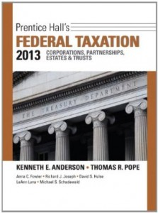Test bank for Prentice Halls Federal Taxation 2013 Corporations Partnerships Estates and Trusts 26th Edition by Anderson