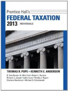 Test bank for Prentice Halls Federal Taxation 2013 Individuals 26th Edition by Pope