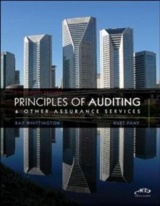 Test bank for Principles of Auditing and Other Assurance Services 18th Edition by Whittington