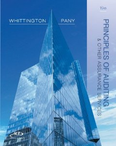 Test bank for Principles of Auditing and Other Assurance Services 19th Edition by Whittington
