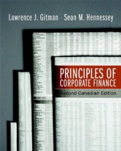 Test bank for Principles of Corporate Finance 2nd Canadian Edition by Gitman