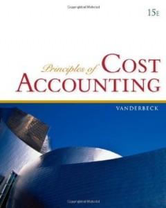 Test bank for Principles of Cost Accounting 15th Edition by Vanderbeck