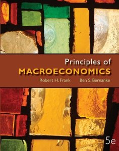 Test bank for Principles of Macroeconomics 5th Edition by Frank