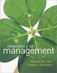 Test bank for Principles of Management 1st Edition by Hill