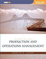 Test bank for Production and Operations Management 2nd Edition by Starr