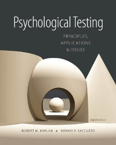 Test bank for Psychological Testing Principles Applications and Issues 8th Edition by Kaplan