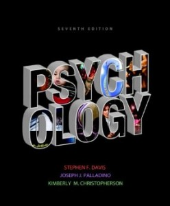 Test bank for Psychology 7th Edition by Davis